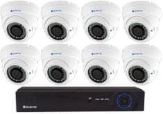 Securia Pro IP kamerový set 5MPx NVR8CHV5-W DOME Nahrávanie: 3TB disk