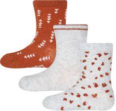 EWERS dívčí 3pack ponožek 205224