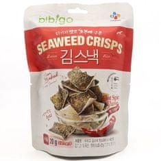 Bibigo rýžový kracker mořské řasy pálivé 20g