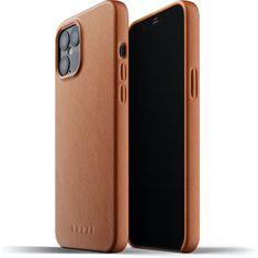 Mujjo usnjeni ovitek Full Leather Case za iPhone 12 Pro Max MUJJO-CL-009-TN, rumeno-rjava