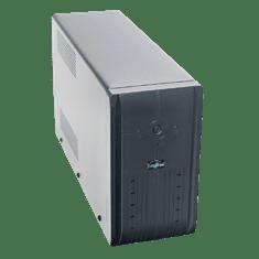 Eurocase UPS Záložný zdroj - EA200LED 2000VA (2x9Ah),RJ45,USB,line interactive
