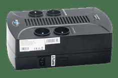 Eurocase UPS Záložní zdroj EA200PLUS EVO2 850VA LINE INTERACTIVE 4x česká zásuvka, RJ11, USB data