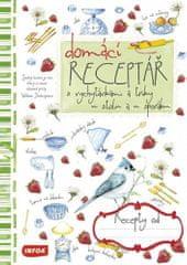 Domácí receptář - zápisník na recepty