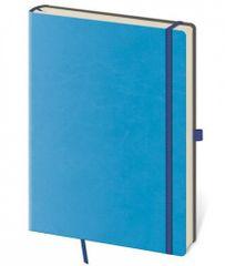 Zápisník Flexies Blue - L tečkovaný