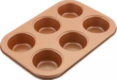 Lamart Muffin forma 6 muffin részére COPPER LT3091 26,5 × 18 cm, réz