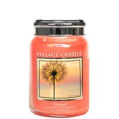 Village Candle Dišeča sveča v steklu Empower 602 g