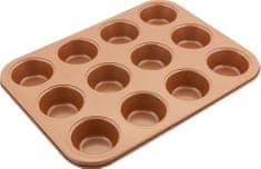 Lamart Muffin forma 12 muffin részére COPPER LT3092 35,5 × 26,5, réz
