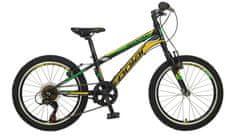 Polar Sonic dječji bicikl, crno-žuti