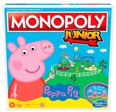 Hasbro Monopoly Junior Prasátko Peppa