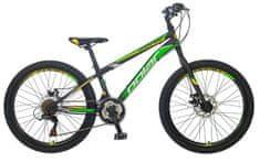 Polar Sonic Disc dječji bicikl, brdski, crno-zeleni