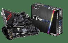 Biostar Racing B550GTQ matična ploča, AM4, DDR4, USB 3.2 Gen2, mATX