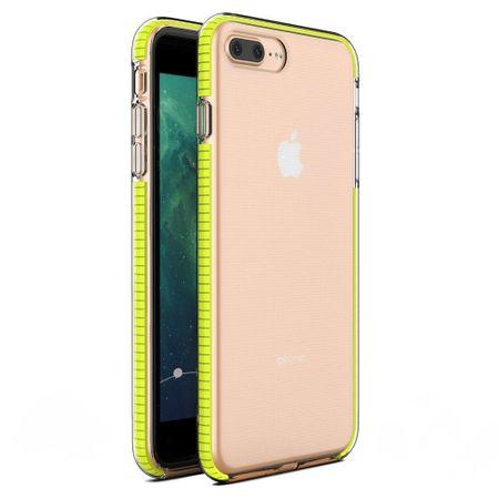MG Spring Case szilikon tok iPhone 7/8 Plus, sárga