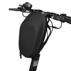 MG Handlebar roller táska 6L, fekete
