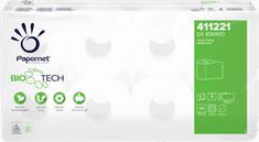 Papernet 409742 BIOTECH toaletný papier 3-vrstvý, celulóza, (8roliek/balenie)