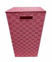 Povlečeme vše Košík velký 33x33x53 růžový