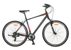 Polar Helix treking bicikl, crno-crveni, L