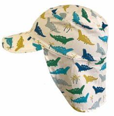 Yetty letní chlapecká kšiltovka s ochranou krku – Dino LB 378/3