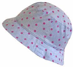 Yetty dívčí klobouček s růžovými kvítky LB 549