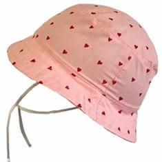 Yetty dívčí klobouček se srdíčky LB 558