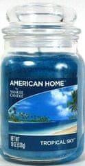 Yankee Candle American Home Tropical Sky gyertya, 538 g