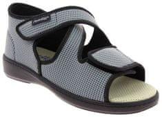 Podowell ACADEMIE zdravotní sandál pro oteklé nohy unisex šedá PodoWell Velikost: 36