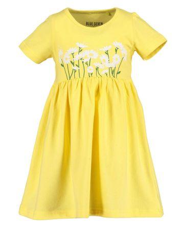 Blue Seven lány ruha 721593 X, 92, sárga