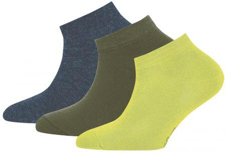 EWERS 201003 3 darabos gyerek zokni szett, 35-38, színes