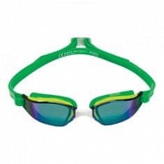 Michael Phelps Plavecké okuliare Xceed YELLOW / GREEN titánovo zrkadlový zorník zelená