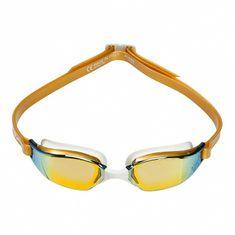 Michael Phelps Plavecké okuliare Xceed GOLD titánovo zrkadlový zorník zlatá