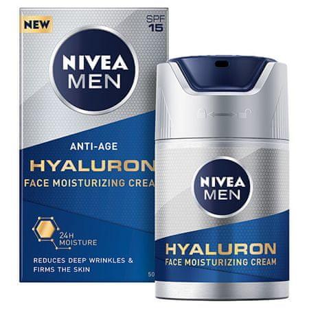 Nivea Men Hyaluron SPF 15 (Face Moisturizing ) krem przeciwzmarszczkowy do (Face Moisturizing ) )Cre