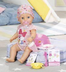 BABY born s čarovným cumlíkom, dievčatko, 43 cm