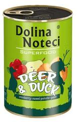 DOLINA NOTECI Dolina Noteci Superfood Jelen a kachna 400g