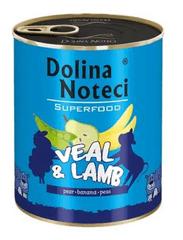 DOLINA NOTECI Dolina Noteci Superfood Telecí a jehněčí 800g