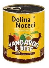 DOLINA NOTECI Dolina Noteci Superfood Klokan a hovězí 800g