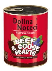 DOLINA NOTECI Dolina Noteci Superfood Hovězí a husí srdce 800g