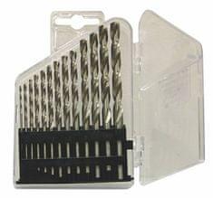 NÁSTROJE CZ Sada vrtákov 13-dielna 1,50-6,50x0,5mm+3,30+4,20 DIN338RNHSS Lesklá, plast