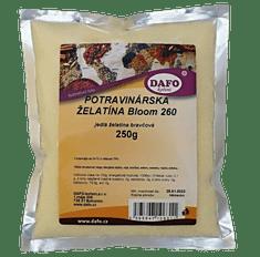 DAFO Potravinárska želatína Bloom 260 250g