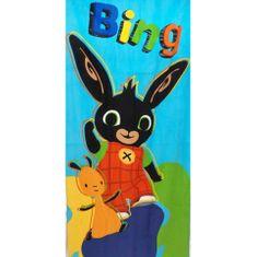 """SETINO Gyermek törölköző """"Bing"""" - kék - 70 x 140 cm"""