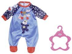 BABY born Sametový overal Narozeninová edice - modrý, 43 cm