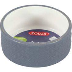 Zolux MARGOT 100ml kerámia tál rágcsálóknak szürke