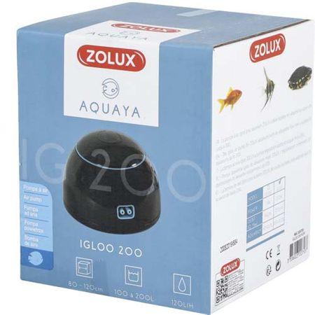 Zolux IGLOO 100 2,0W fekete levegőpumpa akváriumba 100-200l