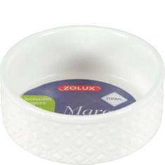 Zolux MARGOT 200ml kerámia tál rágcsálóknak fehér