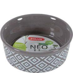 Zolux NEO SANDSTONE 150ml kerámia tál rágcsálóknak szürke