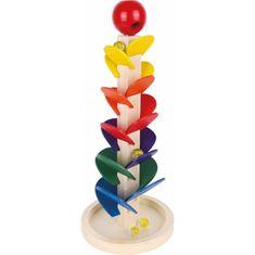 Small foot Dřevěná zvuková věž s kuličkami