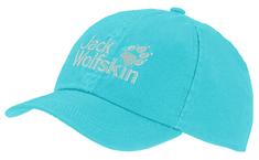 Jack Wolfskin dětská modrá kšiltovka Kids Baseball Cap 1901011-1355495