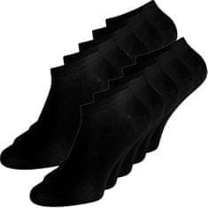 Jack&Jones 10 PACK - pánské ponožky JACDONGO 12172337 Black
