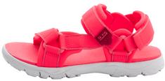Jack Wolfskin dívčí sandály Seven Seas 3 K 4040061-2172