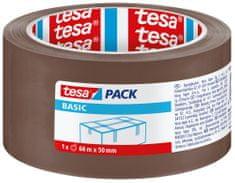 Tesa tesa® Balicí páska BASIC, základní, hnědá, 66m:50mm, 6pack