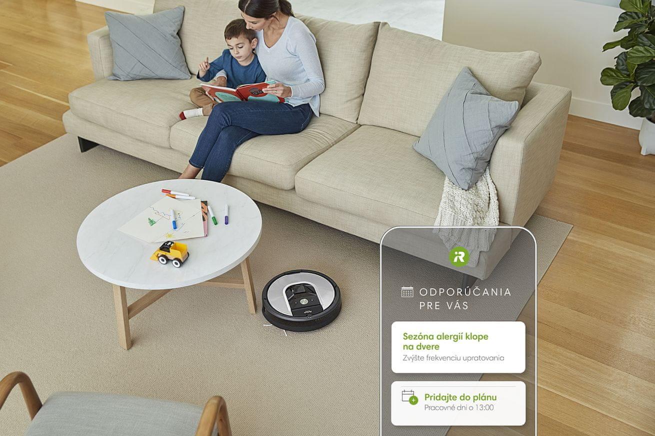 iRobot Roomba 971 nabíjanie počas upratovania