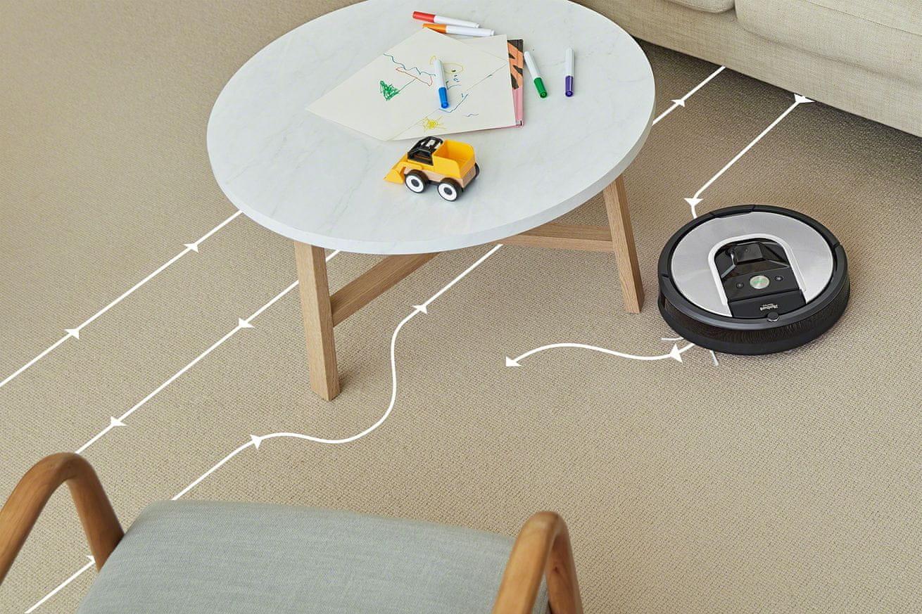 iRobot Roomba 971 program SPOT